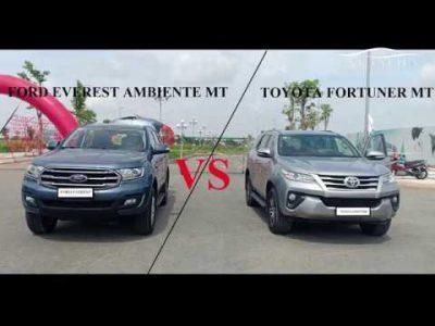 So sánh Ford Everest và Toyota Fortuner (Phần 2)